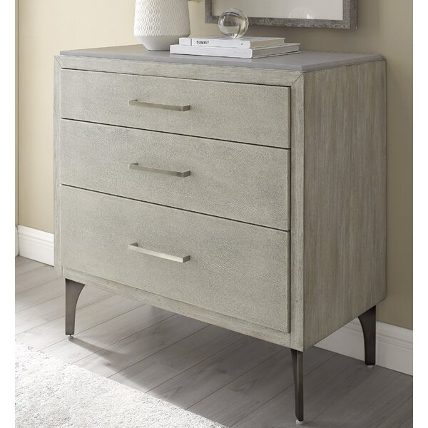Bethea 3 Drawer Accent Chest