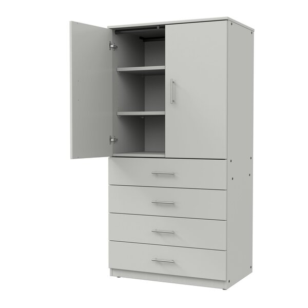 Mobile CaseGoods Tall Storage Cabinet by Marco Group Inc.