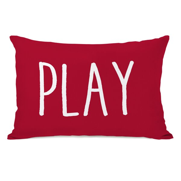 Play Lumbar Pillow by One Bella Casa
