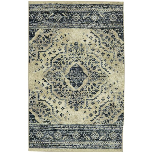 Asherman Beige/Gray Area Rug by Bungalow Rose