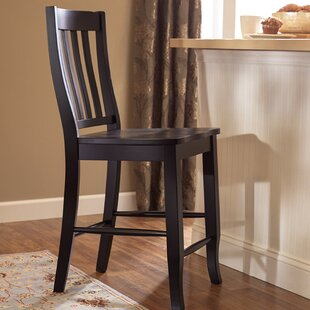 Check Prices Courtdale 24 Bar Stool (Set of 2) by Three Posts