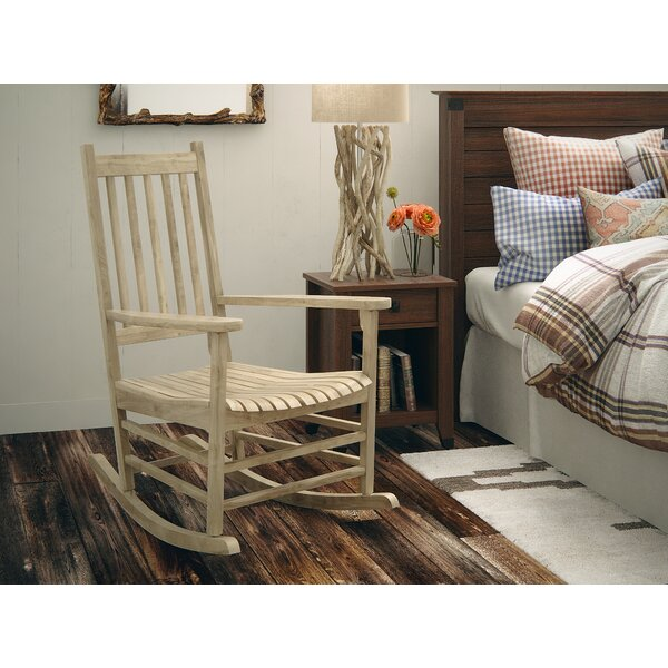 Standish Rocking Chair by Loon Peak