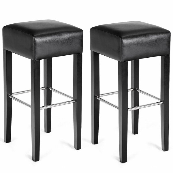 Hutchins 33 Bar Stool (Set of 2) by Ebern Designs