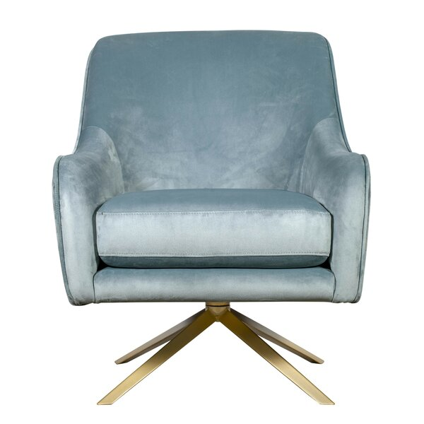 Jolie Swivel Armchair by Elle Decor