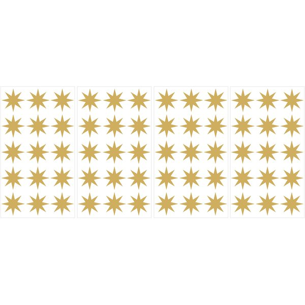 Star MiniPops 60 Piece Wall Decal Set by WallPops!