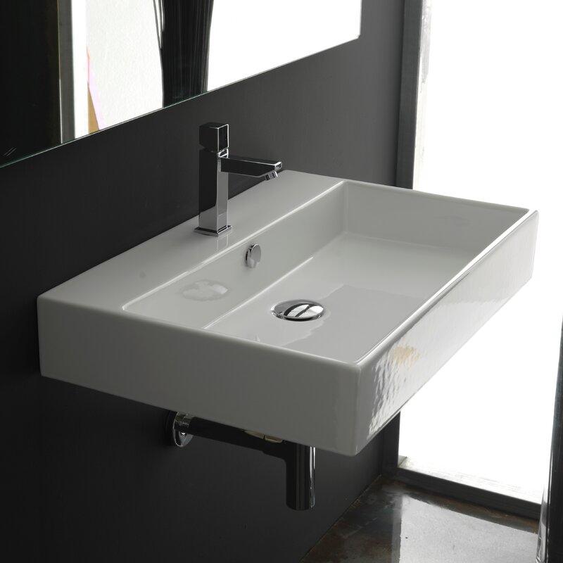 WS Bath Collections Ceramica II Unlimited Ceramic Rectangular - Pacific sales bathroom faucets for bathroom decor ideas