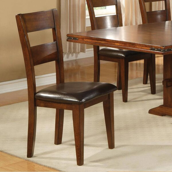 Metivier Upholstered Dining Chair (Set of 2) by Charlton Home