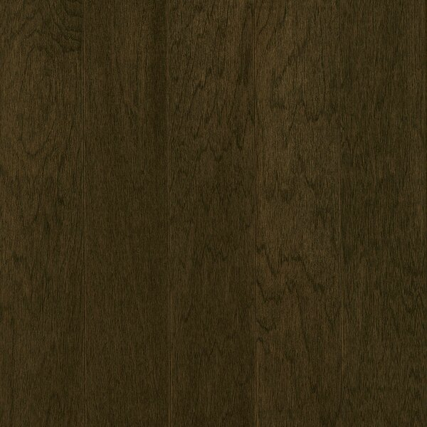 Prime Harvest 5 Engineered Hickory Hardwood Flooring in Blackened Brown by Armstrong Flooring