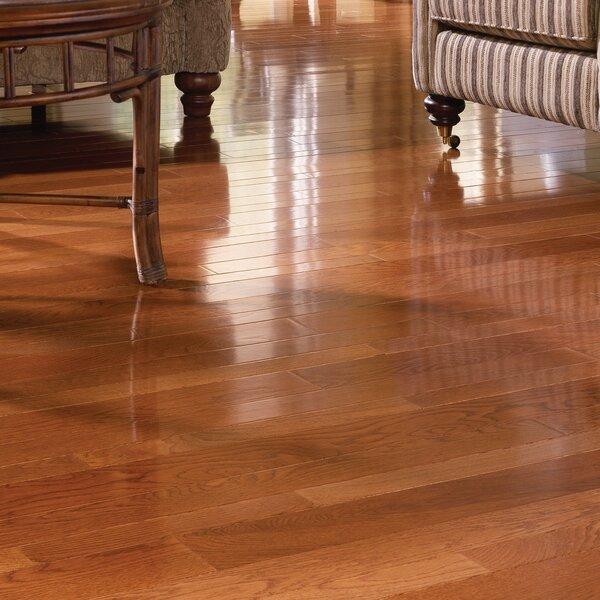 Color Strip 2-1/4 Solid White Oak Hardwood Flooring in Gunstock by Somerset Floors