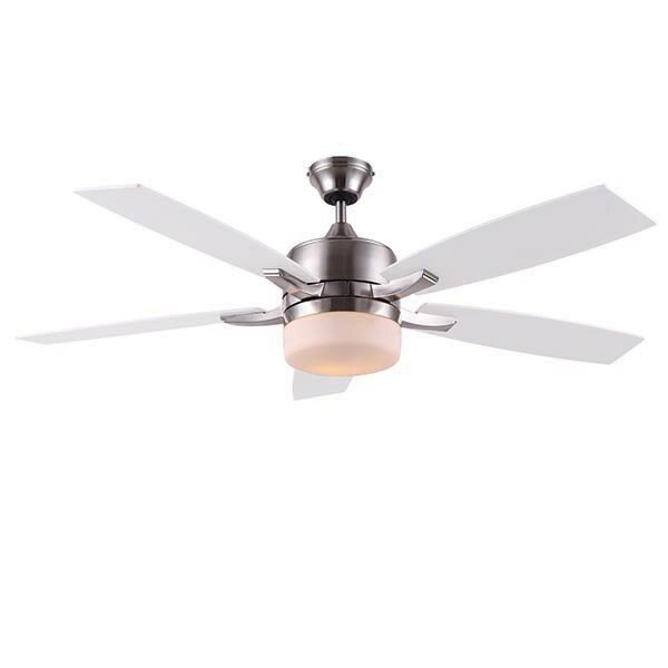 52 Odom 5 Blade LED Ceiling Fan with Remote by Orren Ellis