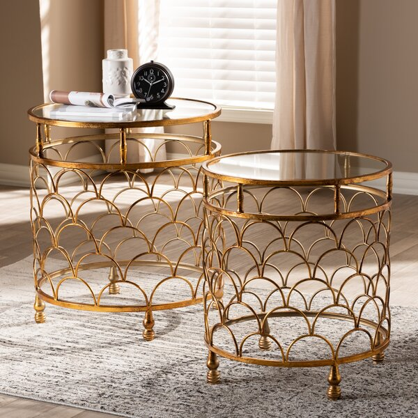 Mccurdy 2 Piece Nesting Tables By Bungalow Rose