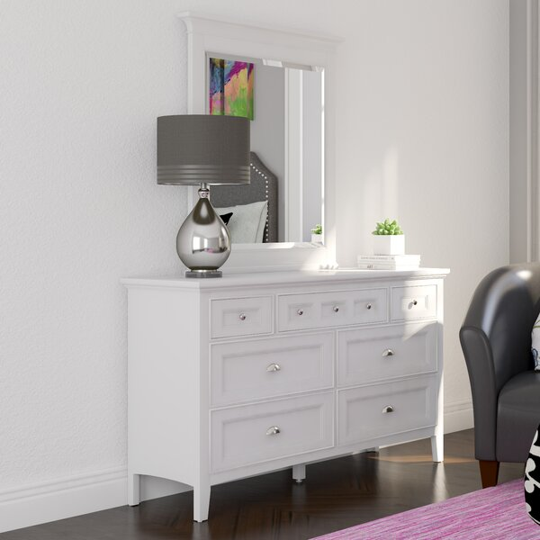 Sully 7 Drawer Dresser with Mirror by Viv + Rae
