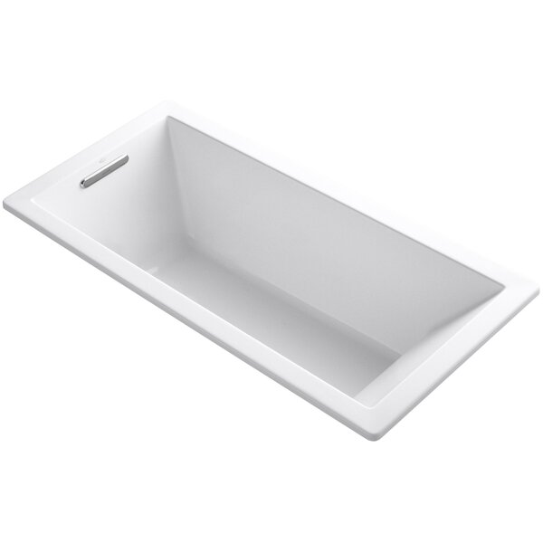 Underscore Vibracoustic 66 x 32 Soaking Bathtub by Kohler