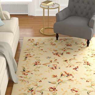 Find Taufner Power Loomed Beige/Ivory Area Rug By Astoria Grand