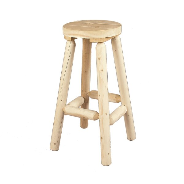 30.5 Bar Stool by Rustic Natural Cedar Furniture