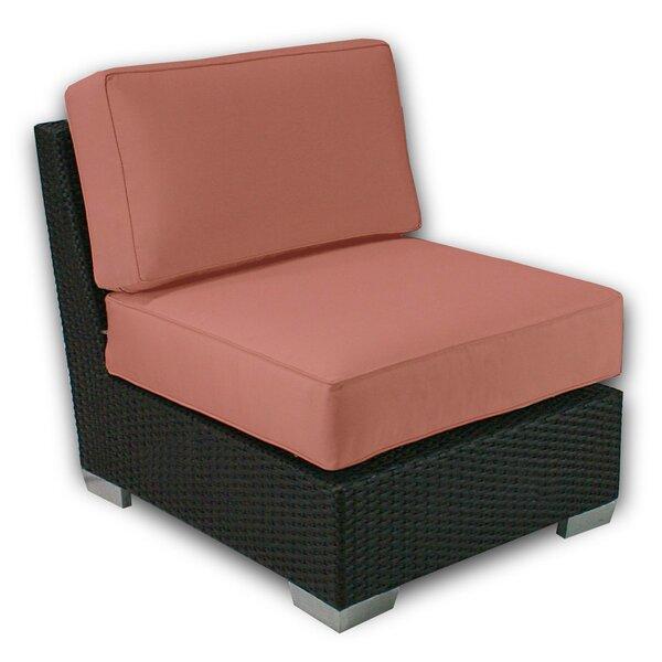 Sienna Armless Patio Chair with Sunbrella Cushions by Axcss Inc.