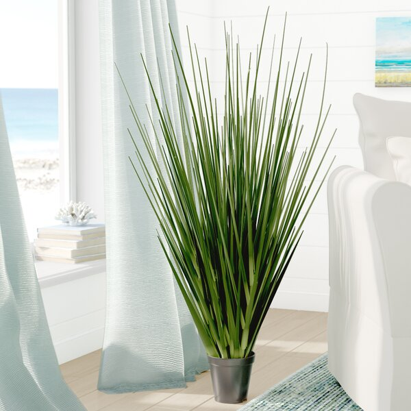 Artificial Foliage Floor Grass in Pot by Beachcres