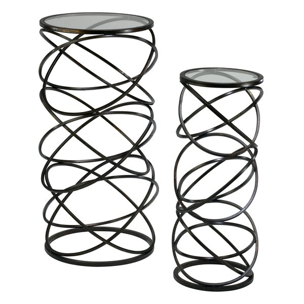 Spira 2 Piece Nesting Tables by Cyan Design