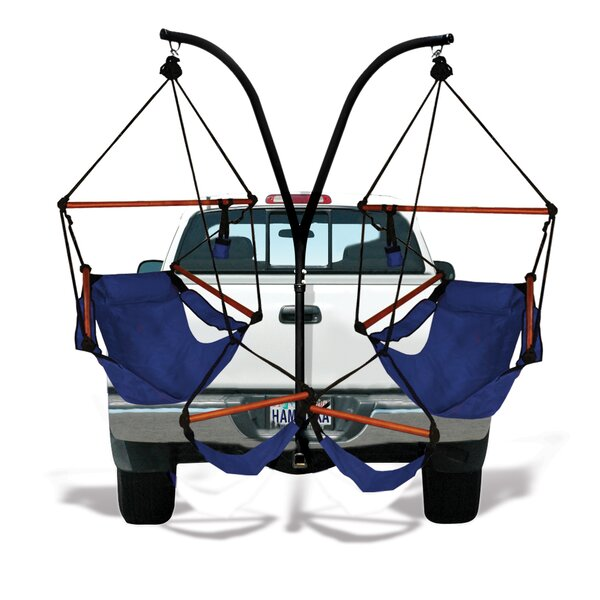 Trailer Hitch Stand Cotton Chair Hammock with Stand by Hammaka Hammaka