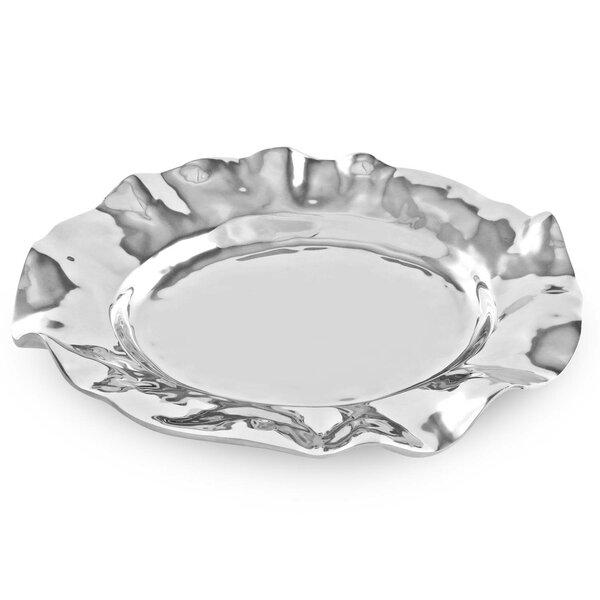 Vento Oval Deep Platter by Beatriz Ball