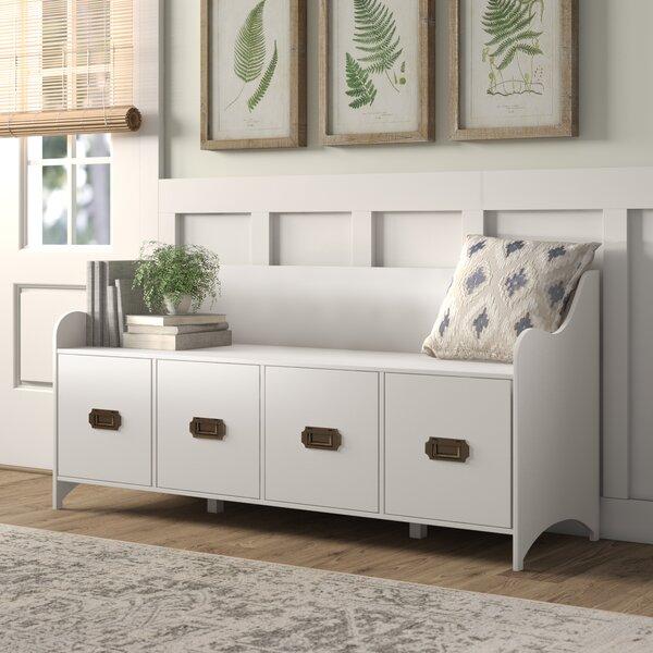 Edwards 4-Drawer Storage Bench by Birch Lane™ Heritage