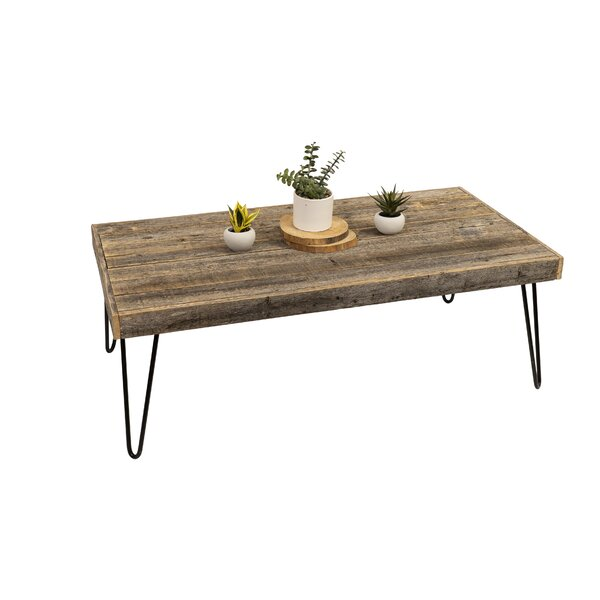 Marcina Coffee Table By Union Rustic