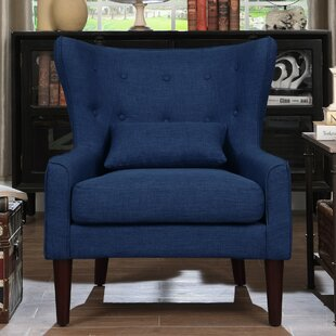 Blue Wingback Accent Chairs Youu0027ll Love | Wayfair
