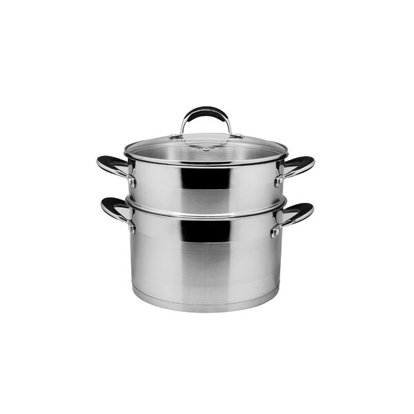 8.5-qt. Stock Pot Set with Lid by Prime Cook