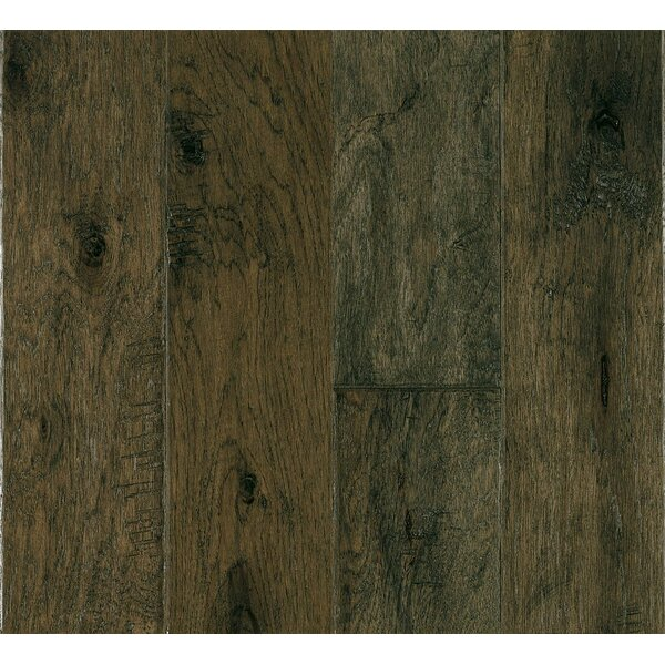 5 Engineered Hickory Hardwood Flooring in Misty Gray by Armstrong Flooring