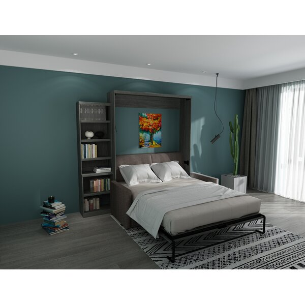 Munn Queen Upholstered Murphy Bed by Brayden Studio Brayden Studio