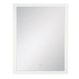 Stollings Clear Edge Lit LED Bathroom/Vanity Mirror By Orren Ellis