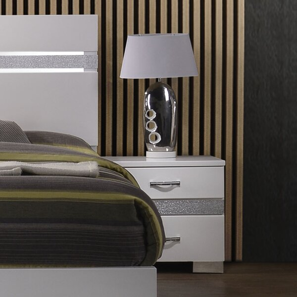 Mccormack 2 Drawer Nightstand by Orren Ellis