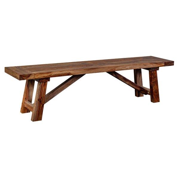 Marissa Wood Bench by Loon Peak Loon Peak