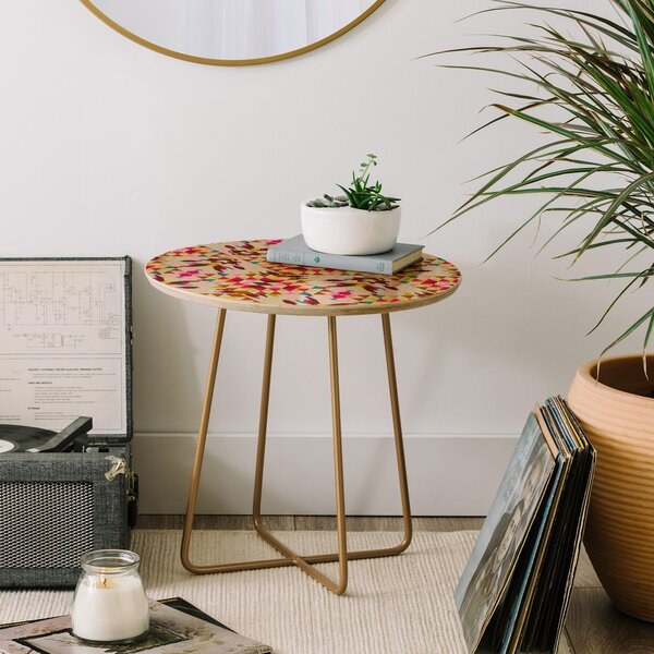 Holli Zollinger Geo Nomad End Table by East Urban Home