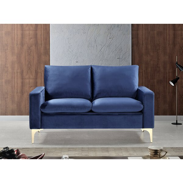 Crestwood Loveseat by Everly Quinn Everly Quinn