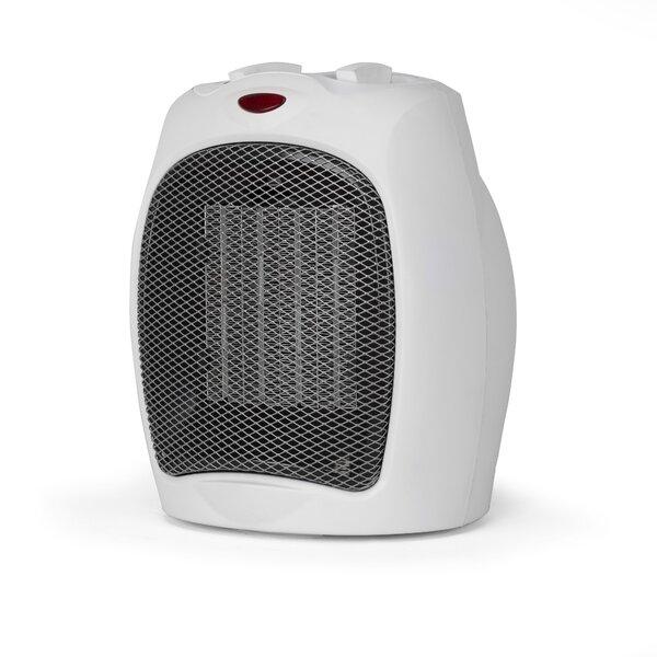 Personal 1500 Watt Electric Fan Compact Heater With Manual Control By Black + Decker