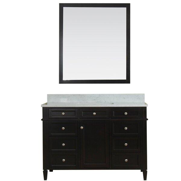 Costillo 48 Single Bathroom Vanity Set with Mirror by Red Barrel Studio