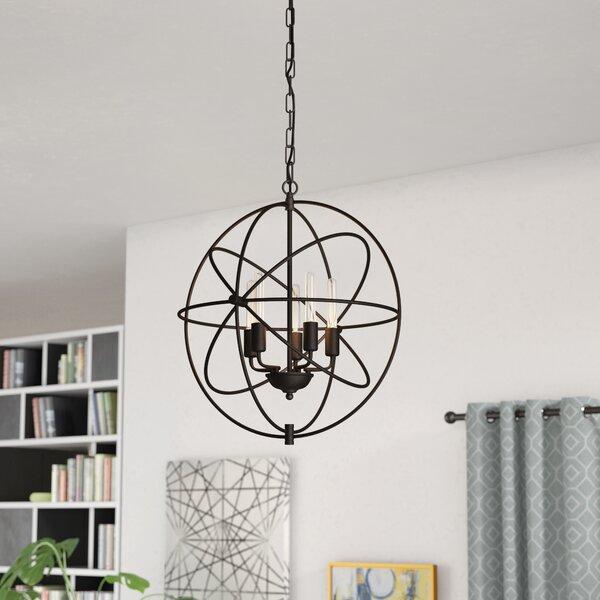Rosina 5 - Light Globe Chandelier by Greyleigh Greyleigh