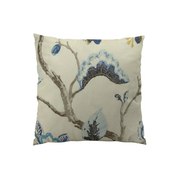 Bloom City Handmade Cotton Throw Pillow by Plutus Brands