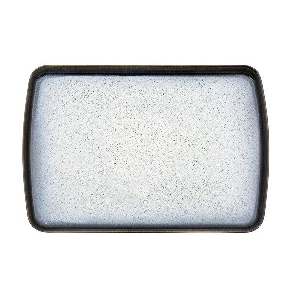 Halo Large Rectangular Platter by Denby