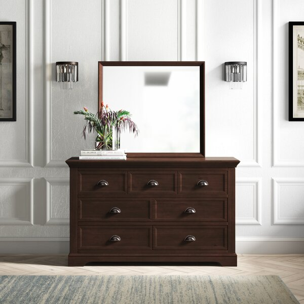 Appleby 9 Drawer Dresser with Mirror by Greyleigh