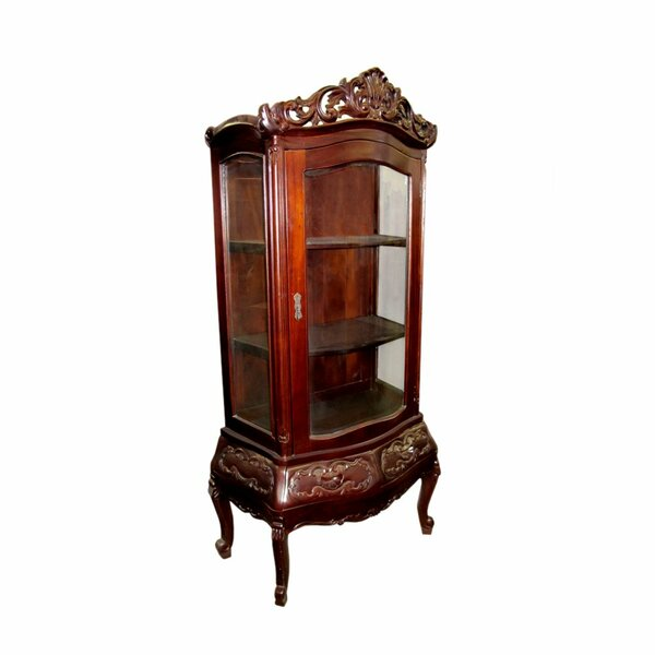 Pawlowski Display Curio Cabinet by Astoria Grand