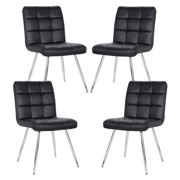 Shuff Upholstered Dining Chair (Set of 4) by Orren Ellis