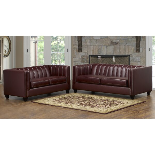 Best Of The Day Telfair 2 Piece Living Room Set by Foundry Select by Foundry Select