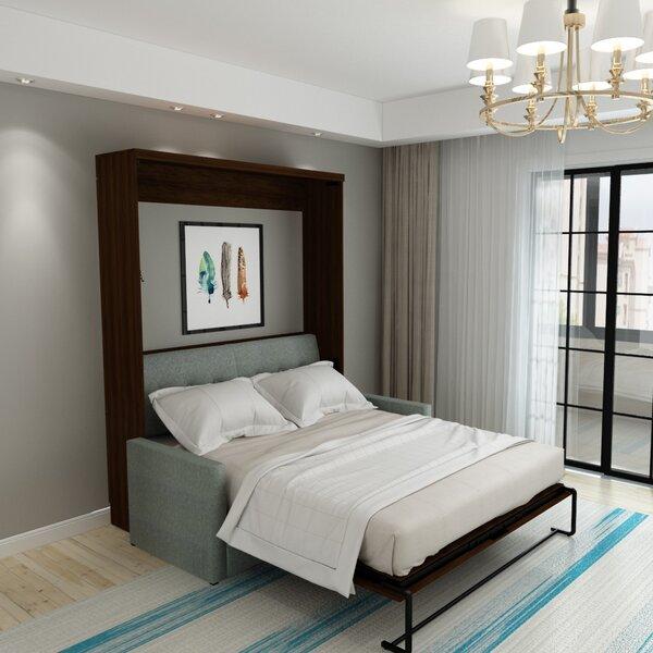 Munn Queen Upholstered Murphy Bed by Brayden Studio