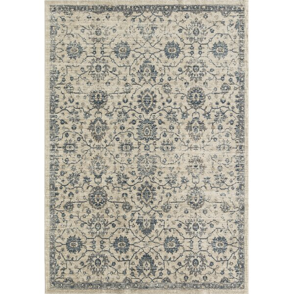 Park Transitional Ivory Area Rug by CosmoLiving by Cosmopolitan