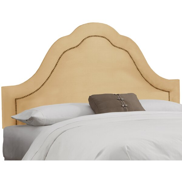 Donelson Upholstered Panel Headboard by Darby Home Co