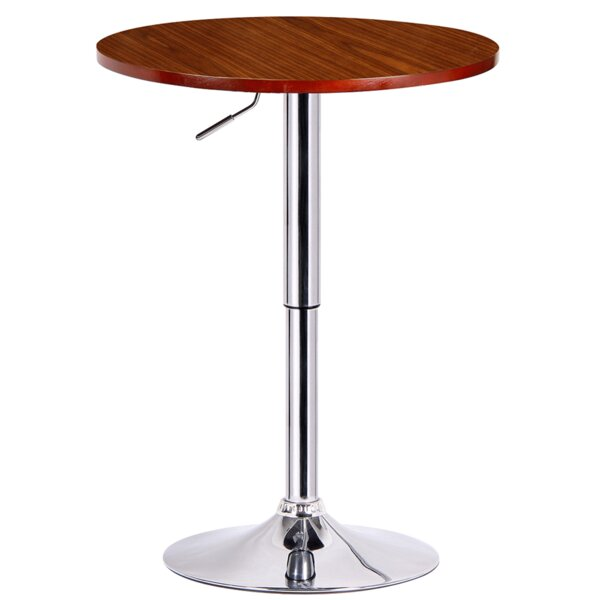 Runda Adjustable Height Pub Table by Boraam Industries Inc