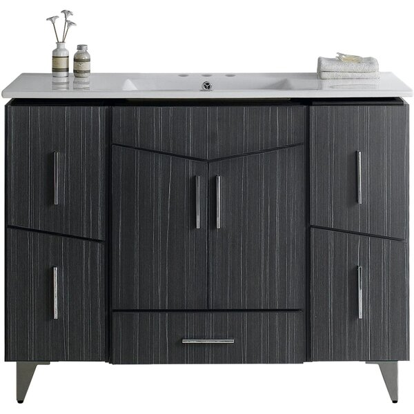 Dunand 48 Single Bathroom Vanity Set by Royal Purple Bath Kitchen