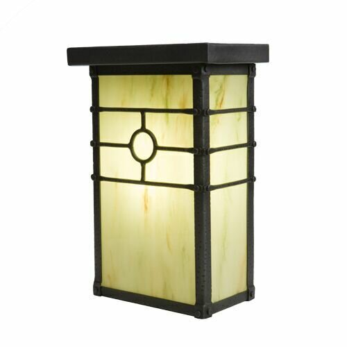 Historic California 1-Light Outdoor Flush Mount by Steel Partners